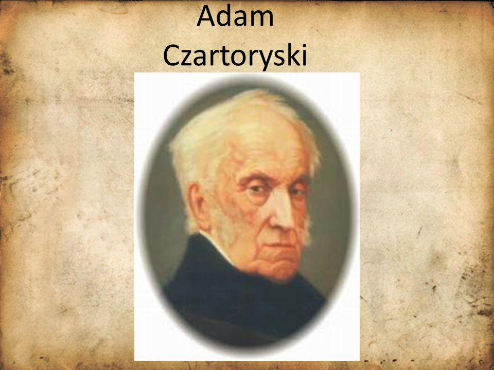 Adam Czartoryski