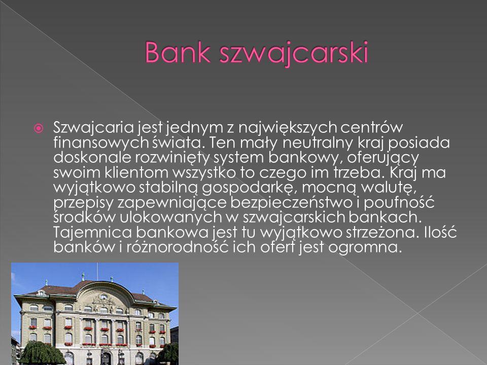 Bank szwajcarski