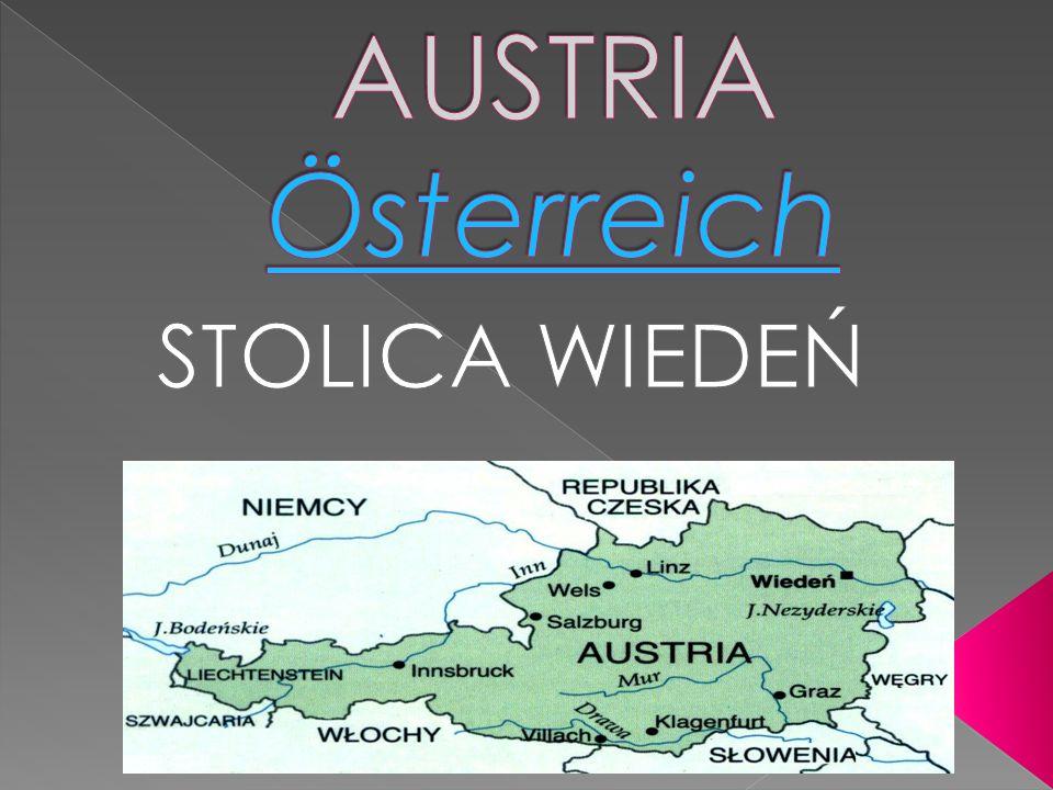 AUSTRIA Österreich STOLICA WIEDEŃ