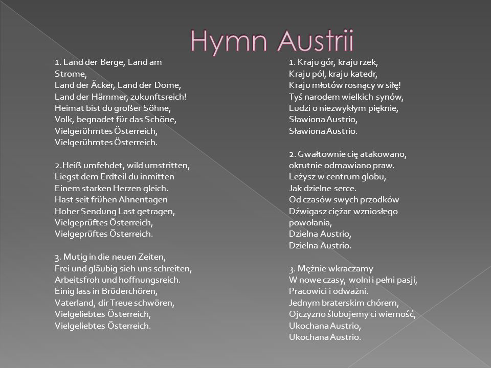 Hymn Austrii