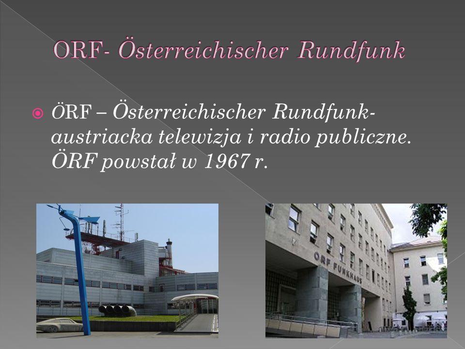ORF- Österreichischer Rundfunk