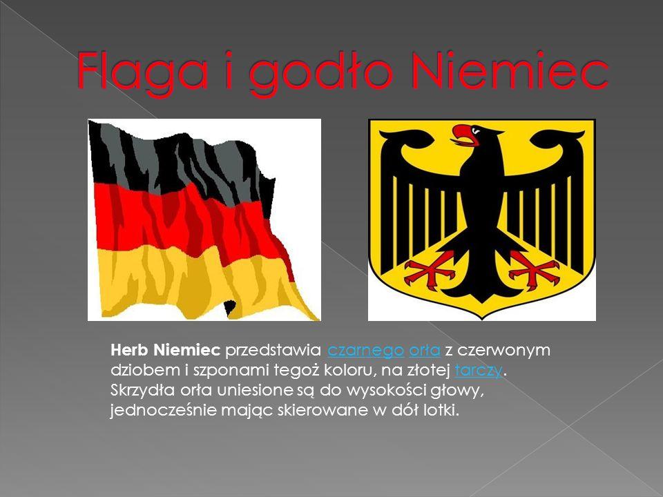 Flaga i godło Niemiec