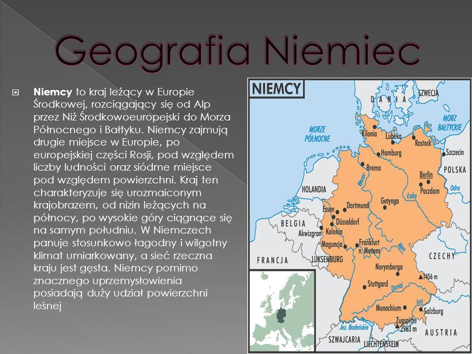 Geografia Niemiec