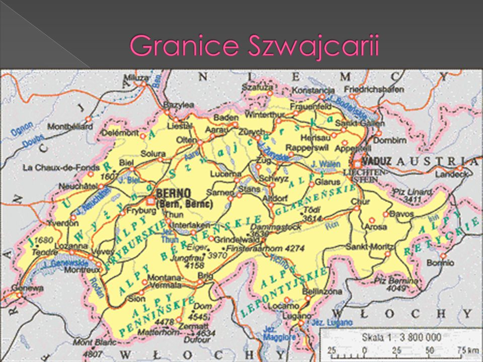 Granice Szwajcarii