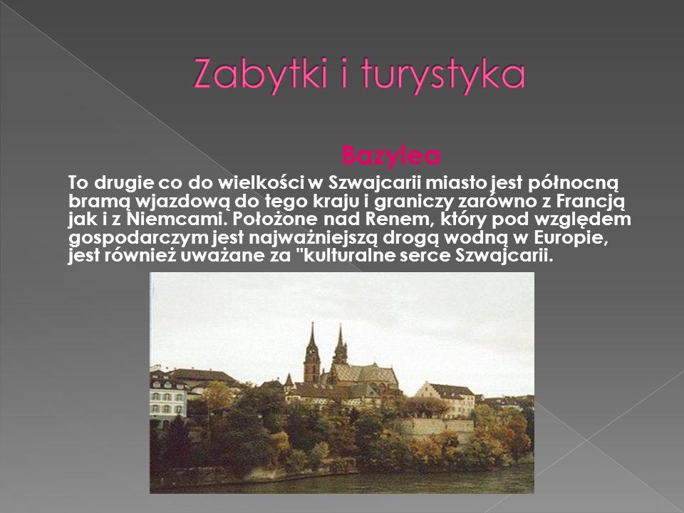 Zabytki i turystyka Bazylea