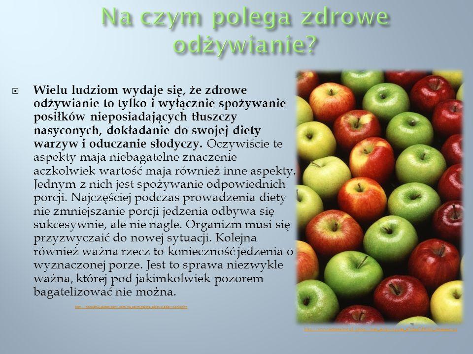 Na czym polega zdrowe odżywianie