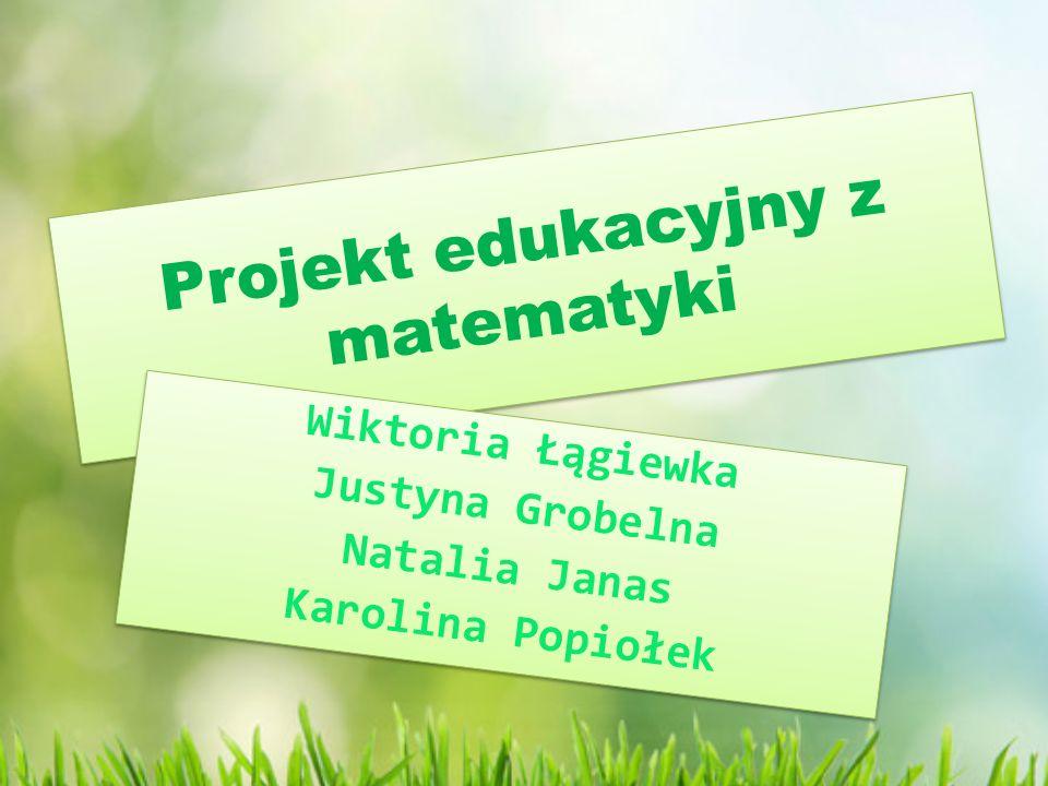 Projekt edukacyjny z matematyki