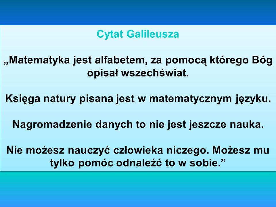Cytat Galileusza