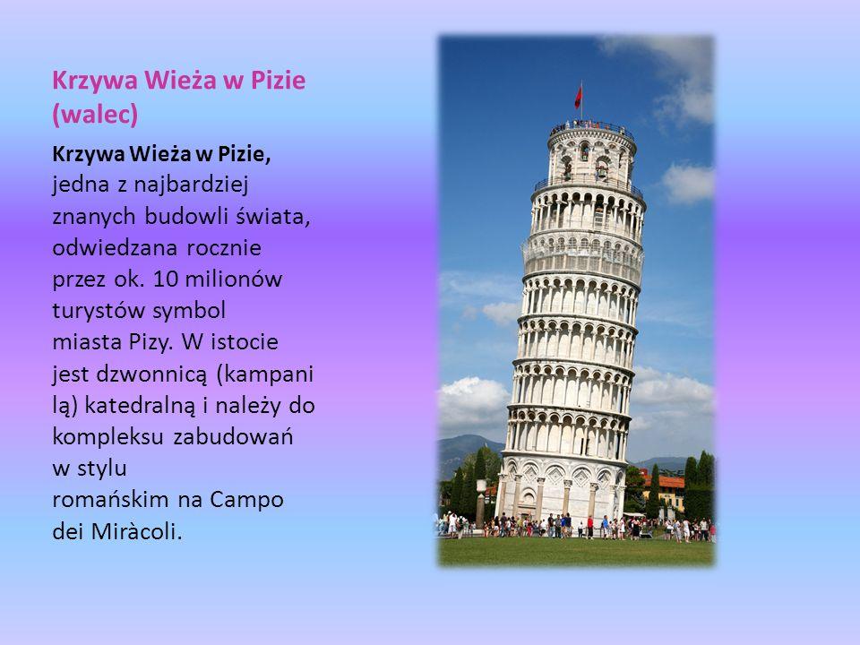 Krzywa Wieża w Pizie (walec)