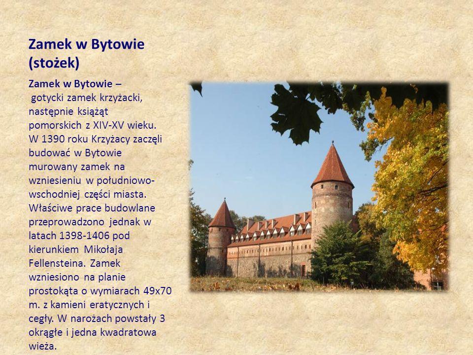 Zamek w Bytowie (stożek)