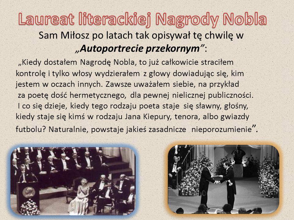 Laureat literackiej Nagrody Nobla