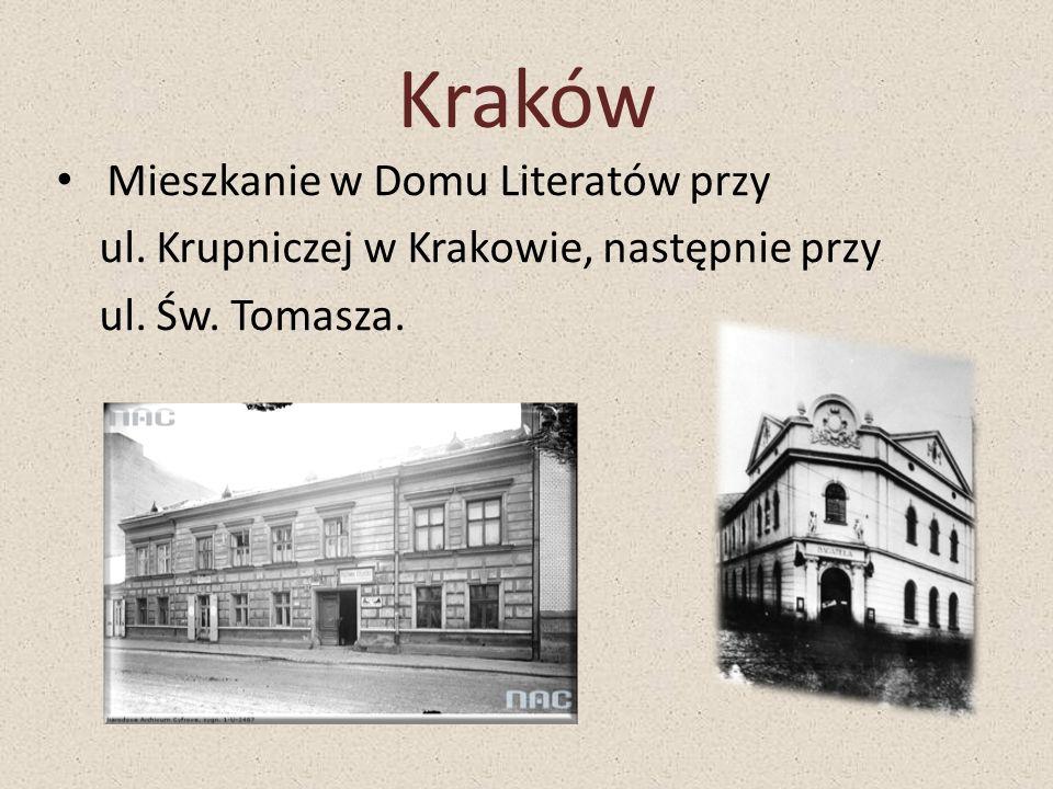 Kraków Mieszkanie w Domu Literatów przy