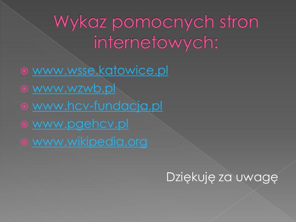Wykaz pomocnych stron internetowych: