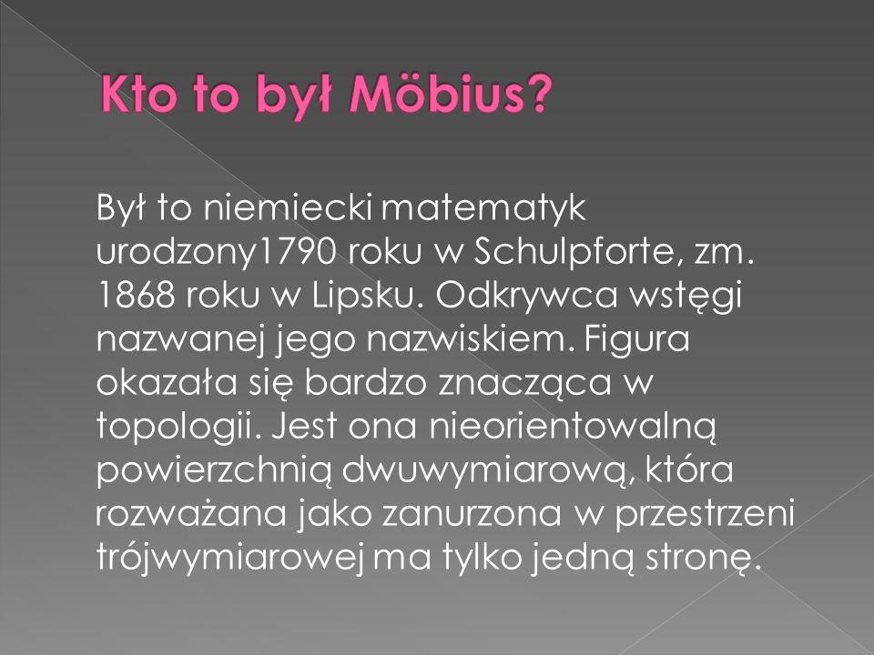 Kto to był Möbius