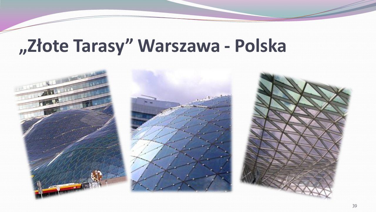 """""""Złote Tarasy Warszawa - Polska"""