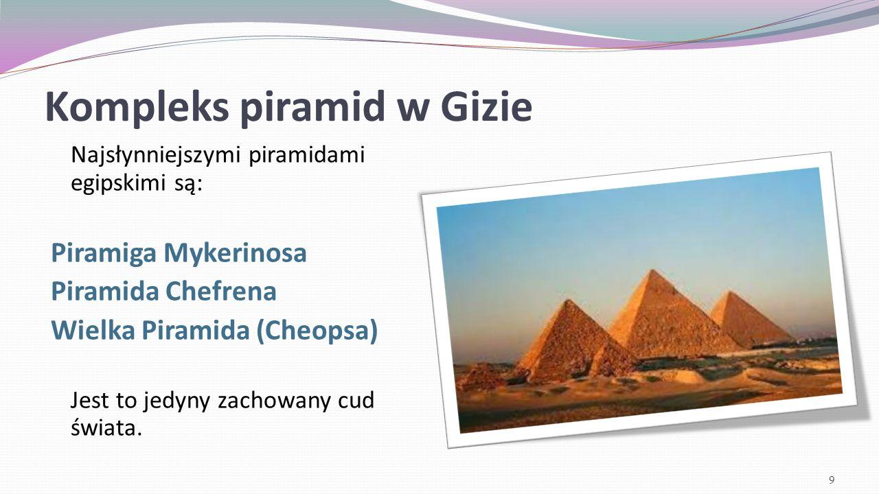 Kompleks piramid w Gizie