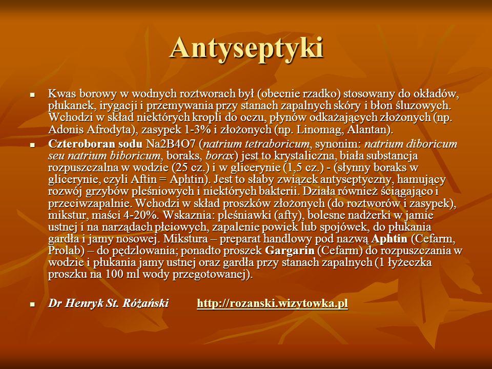 Antyseptyki
