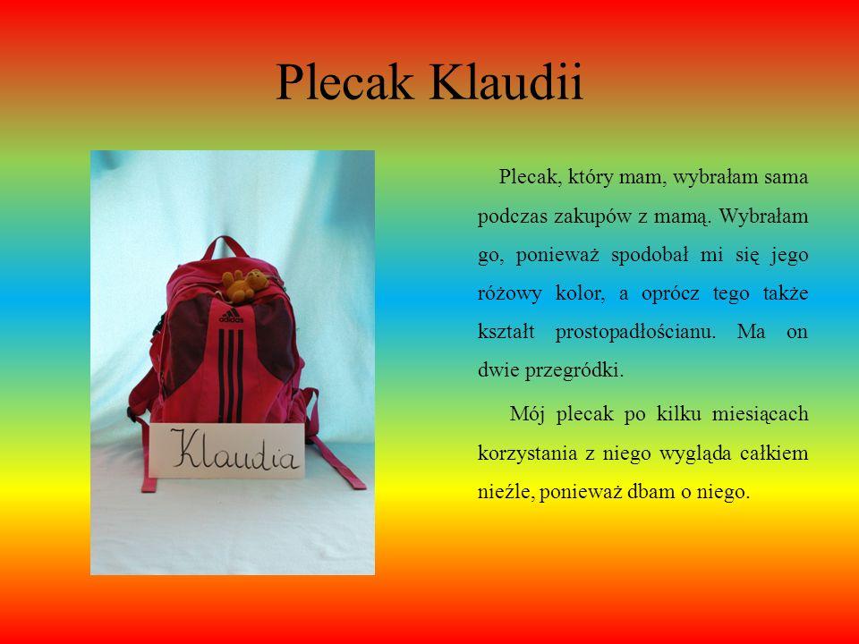 Plecak Klaudii