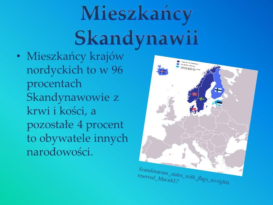 Mieszkańcy Skandynawii