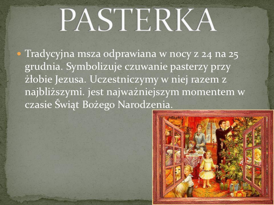 PASTERKA