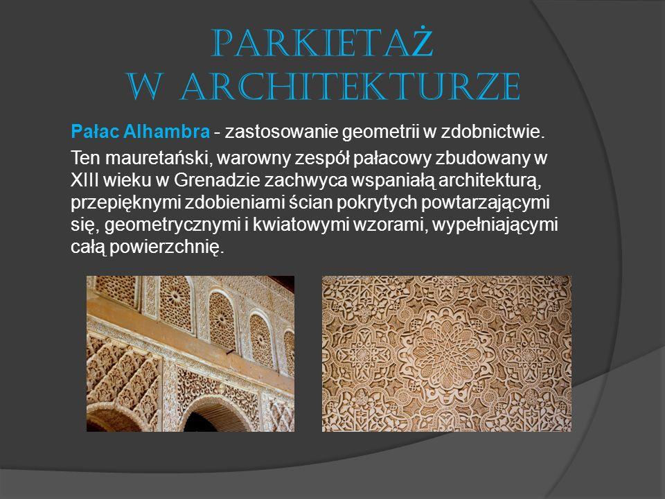 PARKIETAŻ W ARCHITEKTURZE