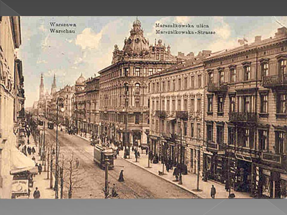 Warszawa, ul.Marszałkowska 1912r.