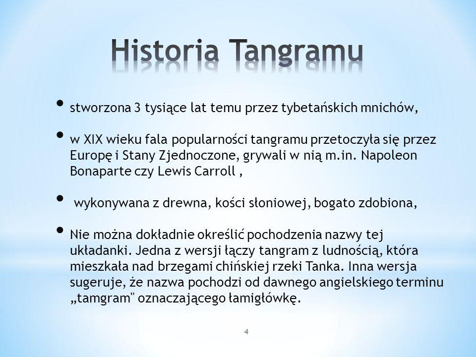Historia Tangramu stworzona 3 tysiące lat temu przez tybetańskich mnichów'