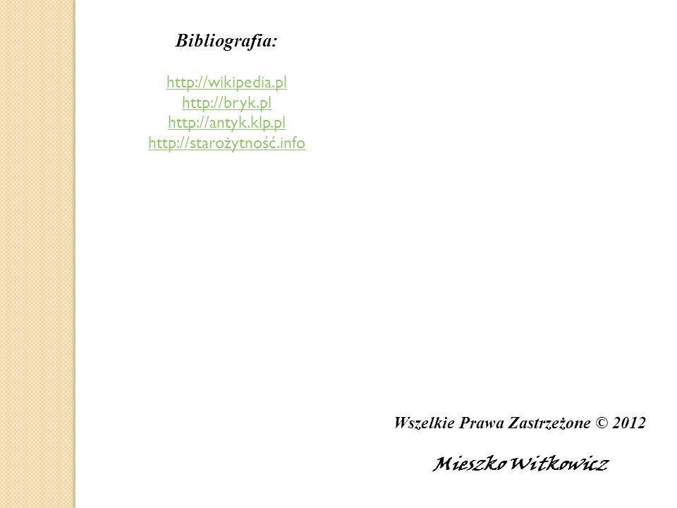 Wszelkie Prawa Zastrzeżone © 2012
