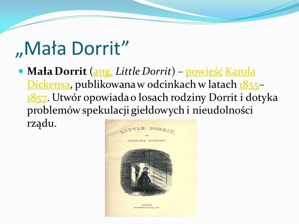 """""""Mała Dorrit"""