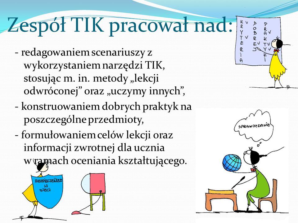 Zespół TIK pracował nad: