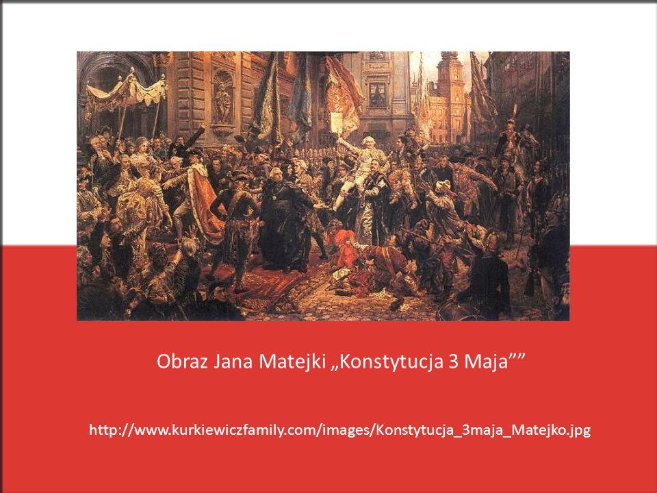 "Obraz Jana Matejki ""Konstytucja 3 Maja"