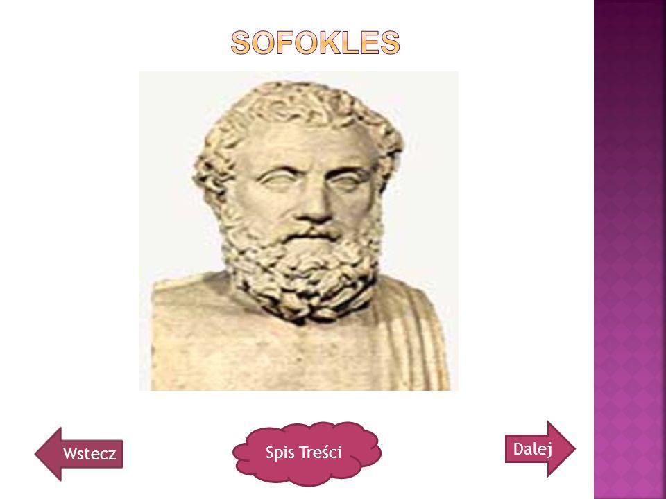 Sofokles Spis Treści Dalej Wstecz