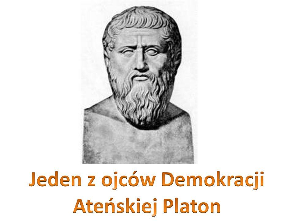 Jeden z ojców Demokracji Ateńskiej Platon