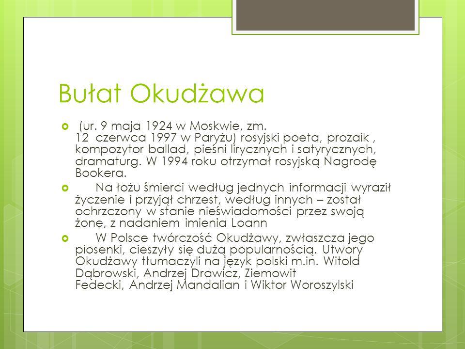 Bułat Okudżawa