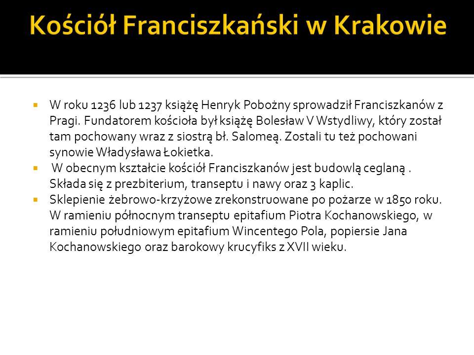 Kościół Franciszkański w Krakowie