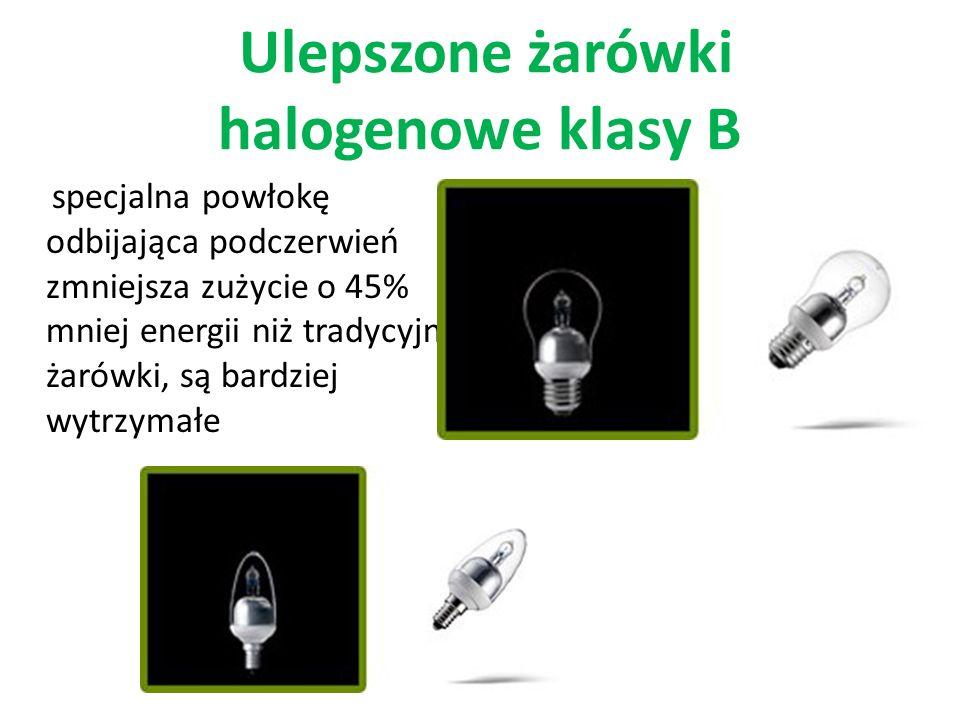 Ulepszone żarówki halogenowe klasy B