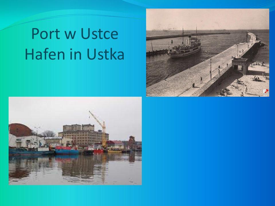 Port w Ustce Hafen in Ustka