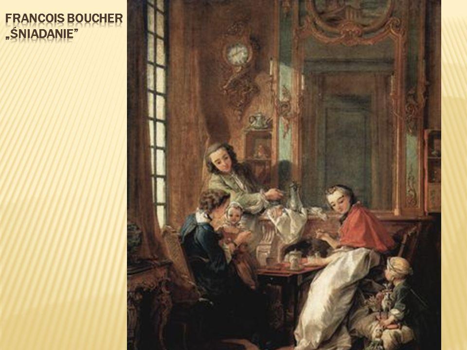 """Francois boucher """"śniadanie"""