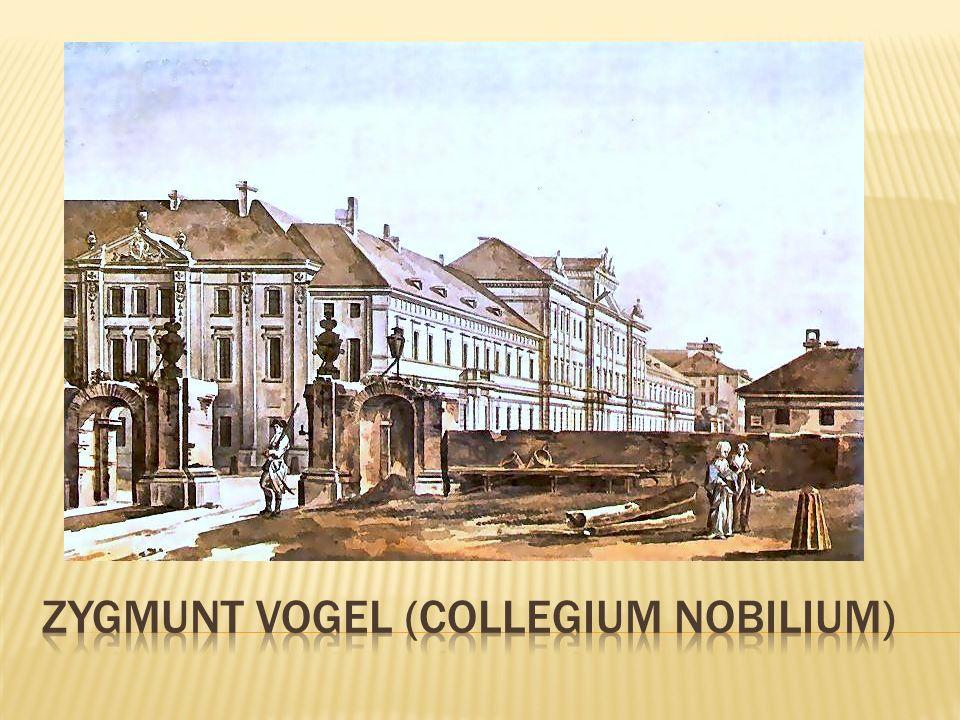ZYGMUNT VOGEL (Collegium nobilium)