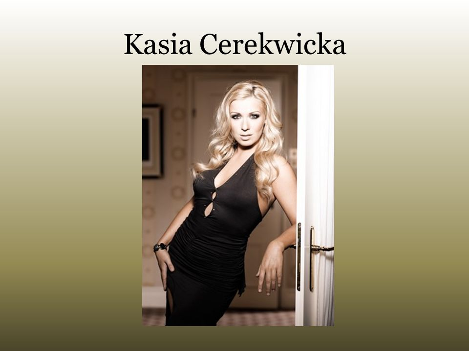 Kasia Cerekwicka