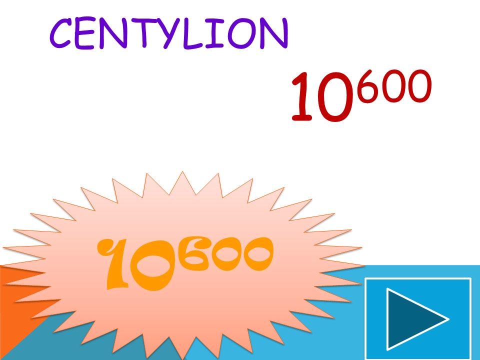 Centylion 10600 10600