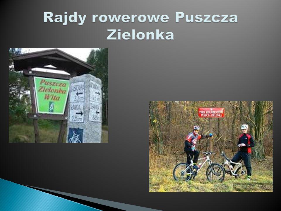 Rajdy rowerowe Puszcza Zielonka