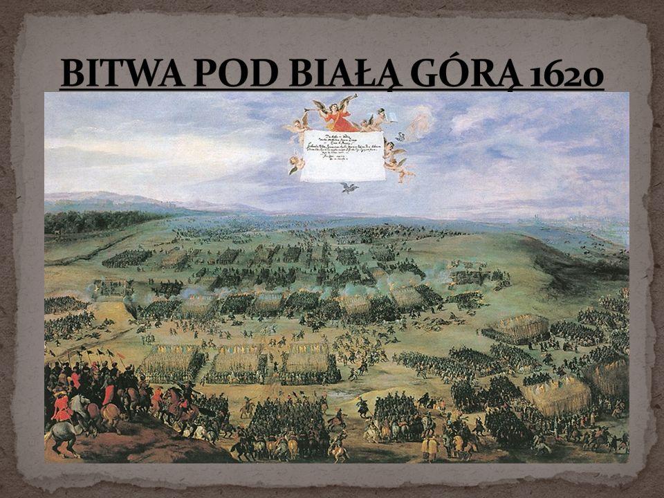 BITWA POD BIAŁĄ GÓRĄ 1620