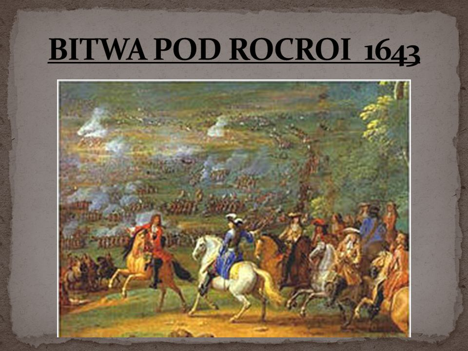 BITWA POD ROCROI 1643