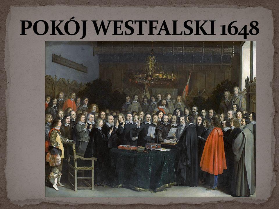 POKÓJ WESTFALSKI 1648