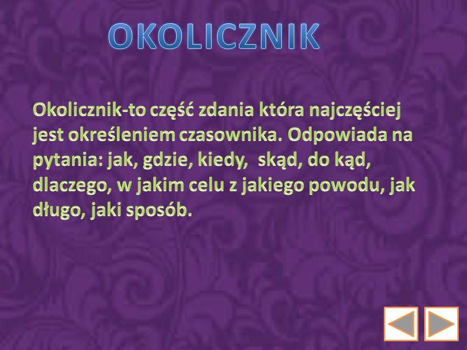 OKOLICZNIK