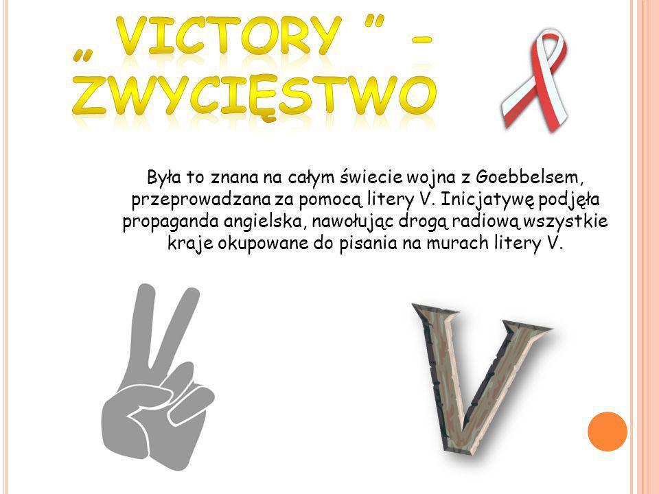 """"""" Victory - zwycięstwo"""