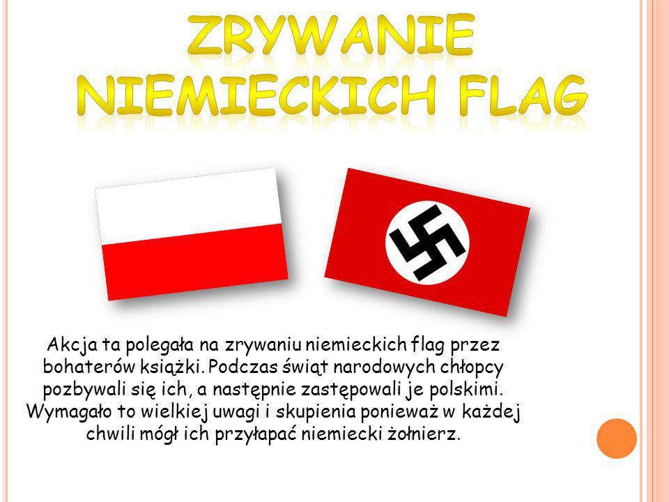 ZRYWANIE NIEMIECKICH FLAG