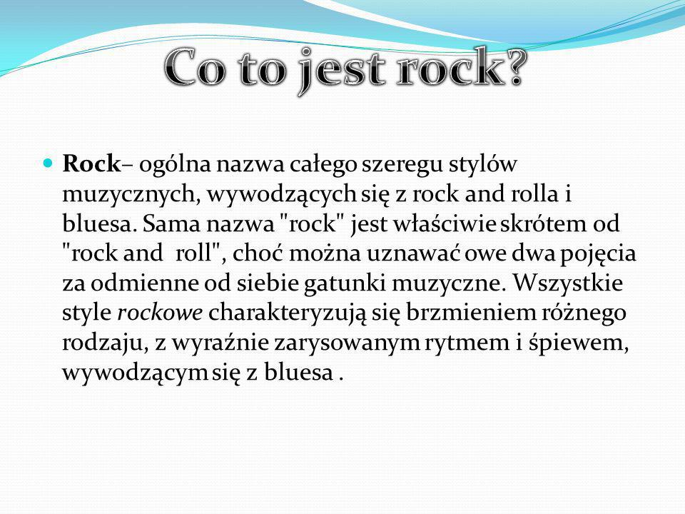 Co to jest rock
