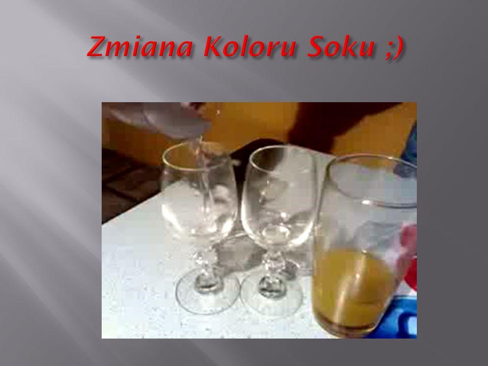 Zmiana Koloru Soku ;)